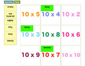 Ten Times Tables