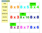 Eight Times Tables