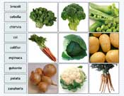 Vegetable Labelling in Spanish